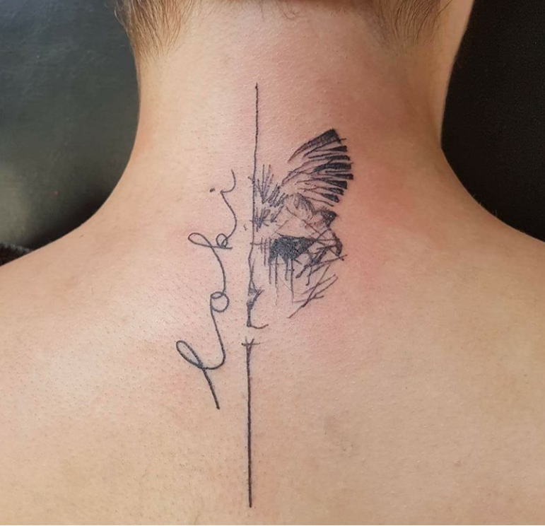 Trash Polka Style Tattoo Tattooshop Ink Heaven